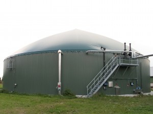 BES-CSTR Plant in Langendorf (Germany)