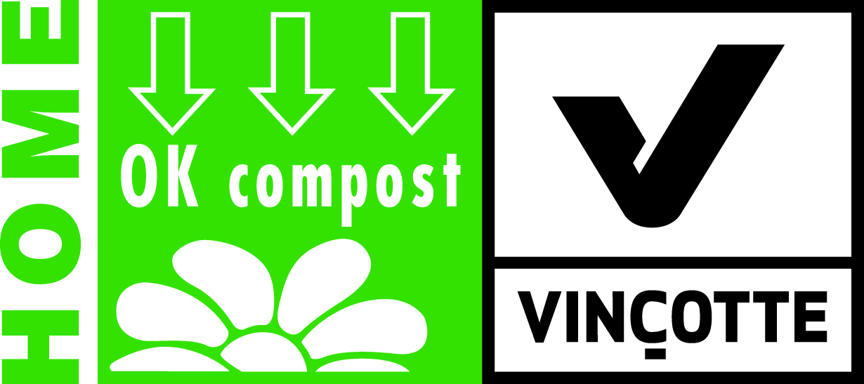 Logo home compostable Vinçotte